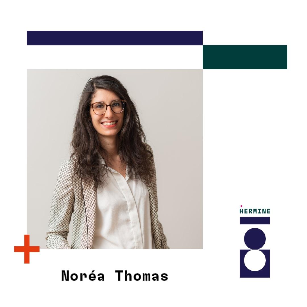 Noréa Thomas coach, ancienne avocate